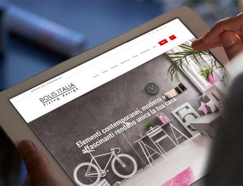 Neue Webseite von Bolis Italia